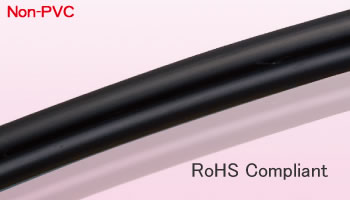 Flexible Fluorine (ETFE) Resin Tubing Black...E-SJ-BK