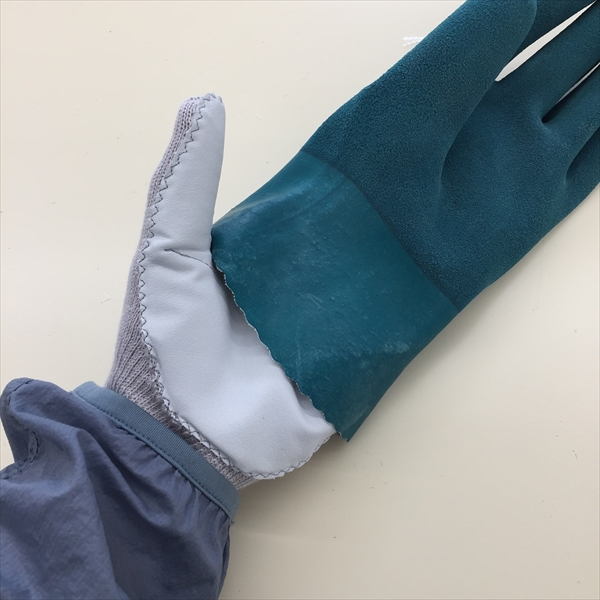 "Anti-Needle-Piercing work glove ""Insulin guard"""