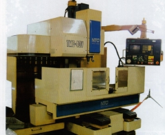 Machining center for making press molds