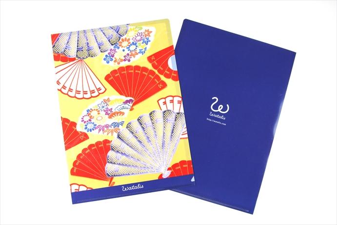 Japanese Kimono stationery - Poly Document Folders by ...