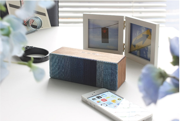 Eco-friendly Bluetooth Wooden Speaker SOUND FLY SJ for smartphone and tablet device